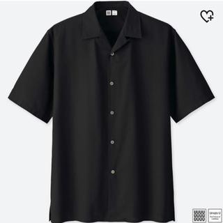 UNIQLO オープンカラーシャツ
