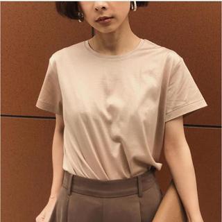アメリヴィンテージ(Ameri VINTAGE)の☆ 完売品 AMERI COATING BASIC TEE Tシャツ ベージュ(Tシャツ(半袖/袖なし))