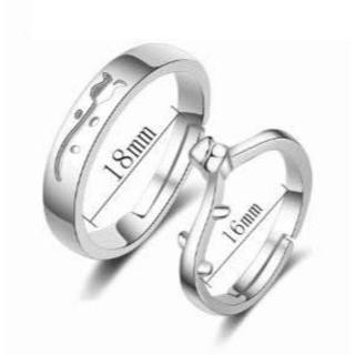 可愛いチューリップペアリング(リング(指輪))