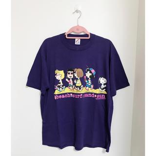 スヌーピー(SNOOPY)の古着 Tシャツ スヌーピー(Tシャツ(半袖/袖なし))