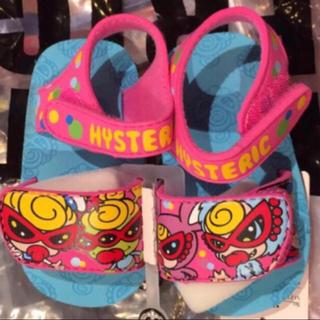 HYSTERIC MINI - 新品ヒステリックミニ サンダル  16cm ピンク
