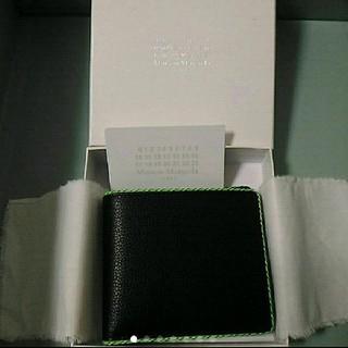マルタンマルジェラ(Maison Martin Margiela)の新品 MAISON MARGIELA  二つ折り財布 納品書原本付き(折り財布)