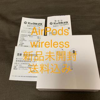 アップル(Apple)のAirPods MRXJ2J/A 10個(ヘッドフォン/イヤフォン)
