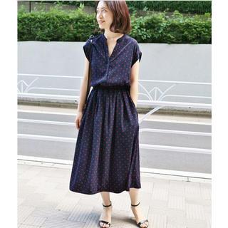 イエナ(IENA)のIENAスキッパーシャツワンピ  size36(ひざ丈ワンピース)