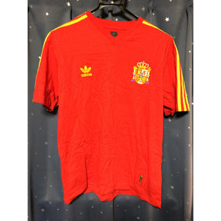 アディダス(adidas)のサッカースペイン代表 Tシャツ(Tシャツ/カットソー(半袖/袖なし))