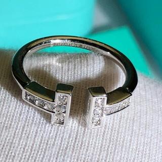ティファニー(Tiffany & Co.)のティファニー Tワイヤー リング7号(リング(指輪))