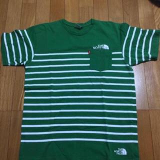 ザノースフェイス(THE NORTH FACE)のLサイズ ボーダー(Tシャツ/カットソー(半袖/袖なし))