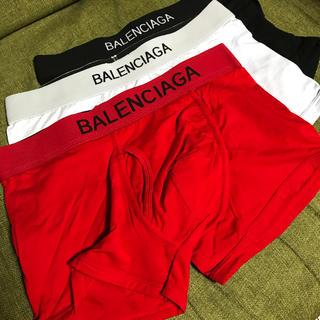 バレンシアガ(Balenciaga)のBALENCIAGA バレンシアガ ボクサーパンツ 3色セット XL 新品 (ボクサーパンツ)
