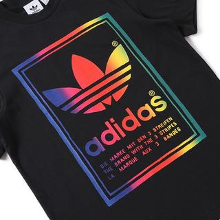 アディダス(adidas)のadidas VINTAGE TEE - BLACK  L(Tシャツ/カットソー(半袖/袖なし))