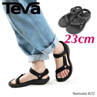 テバ(Teva)の新品♡ レディース 23cm テバ Teva ハリケーン XLT2 サンダル 黒(サンダル)