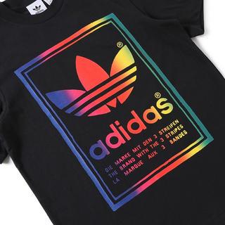 アディダス(adidas)のadidas VINTAGE TEE - BLACK  M(Tシャツ/カットソー(半袖/袖なし))