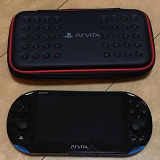 PlayStation Vita - 最終出品!PlayStationVita 2000 ブルー×ブラック 中古美品☆