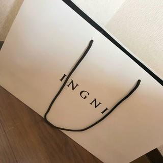 イング(INGNI)のINGNI ショップ袋 大きめ(ショップ袋)
