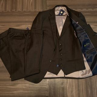 UNITED ARROWS - 3ピース セットアップ スーツ チェック ブラウン 新品