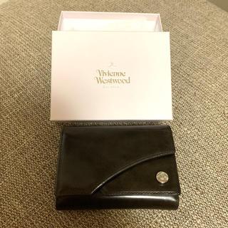 ヴィヴィアンウエストウッド(Vivienne Westwood)のヴィヴィアンウエストウッド☆新品未使用☆折財布 ダブルフラップ 牛革(折り財布)