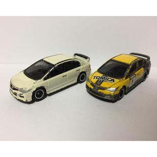 ホンダ(ホンダ)のトミカ ホンダ シビック FD2 2台セット(ミニカー)