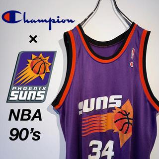 Champion - 【希少 90s】チャンピオン NBA サンズ バークレーNo.34 ゲームシャツ