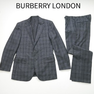 BURBERRY - BURBERRY LONDON  バーバリー イタリア製生地 セットアップスーツ