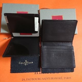 コールハーン(Cole Haan)の【新品】 マネークリップ カードケース 名刺入 COLE HAAN コールハーン(折り財布)