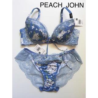 ピーチジョン(PEACH JOHN)の合計定価4.276円 新品 ピーチジョン B75 M ブラジャー&ショーツセット(ブラ&ショーツセット)