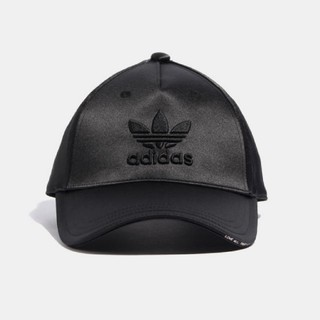 adidas - 新品 アディダス サテン キャップ ブラック 黒 M