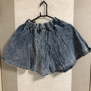 アンズ(ANZU)のデニム スカート ミニスカート 原宿系 ストリートファッション(ミニスカート)