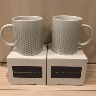 ルイヴィトン(LOUIS VUITTON)の【新品未使用】ルイヴィトン財団美術館 マグカップ 1個(グラス/カップ)