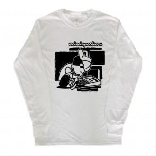 音楽好きに!イラスト 長袖  ロングTシャツ git20(Tシャツ/カットソー(七分/長袖))