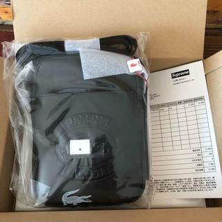 Supreme Lacoste shoulder bag black