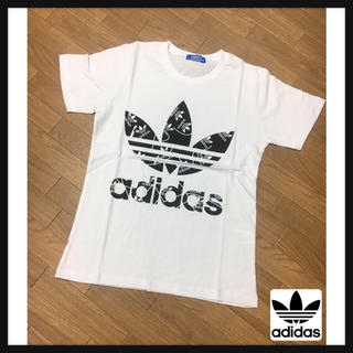 adidas - adidas Tシャツ白