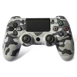 PS4 ワイヤレスコントローラー カモフラージュグレー 迷彩色 灰色迷彩