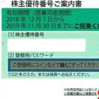 ANA株主優待券二枚セット(その他)