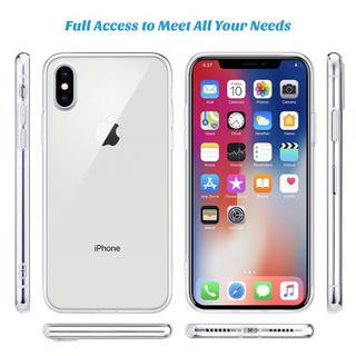 iPhone - iPhone XSMAX ケース クリア 耐衝撃 透明 ソフト TPU 耐久