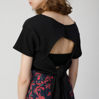 moussy - 【OPEN BACK TEE】