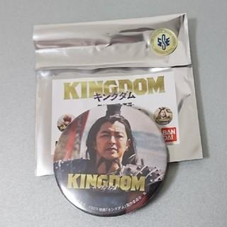 バンダイ(BANDAI)のキングダム 缶バッチ 大沢たかお 王騎(その他)