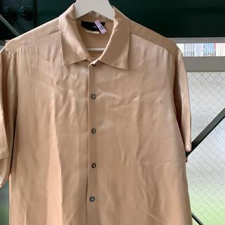 90s 古着 レーヨンシャツ テロテロシャツ ドレープ used vintage(シャツ)
