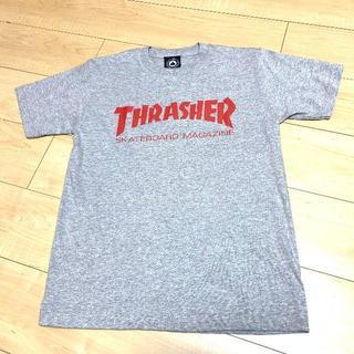 スラッシャー(THRASHER)のTHRASHER Tシャツ グレー S(Tシャツ/カットソー(半袖/袖なし))