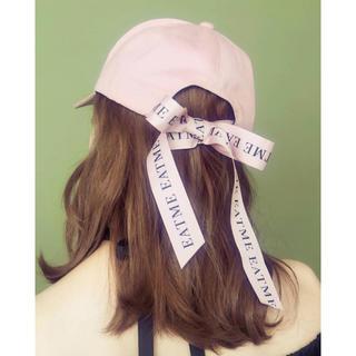 EATME - EATME ロゴリボンキャップ 帽子 イートミー