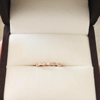 ダイヤモンド ピンキーリング(リング(指輪))