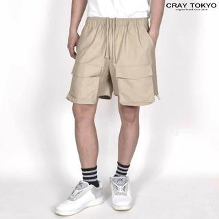 CRAY TOKYO コード カーゴ ショートパンツ ベージュ(ショートパンツ)
