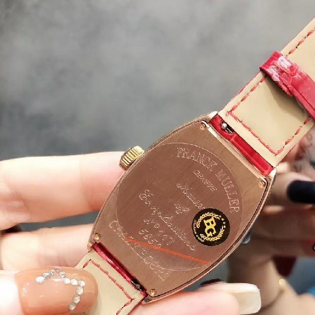 FRANCK MULLER(フランクミュラー)のFRANCK MULLER フランクミュラー レディース腕時計 レディースのファッション小物(腕時計)の商品写真