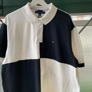 TOMMY HILFIGER - 90s TOMMY HILFIGER ラガーシャツ ポロシャツ vintage