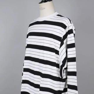 アンユーズド(UNUSED)のunused 18aw ボーダーロンT(Tシャツ/カットソー(七分/長袖))