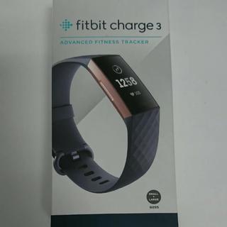 フィットフィット(fitfit)の【美品】Fitbit charge3(腕時計(デジタル))