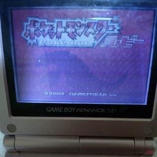 ゲームボーイアドバンス(ゲームボーイアドバンス)のポケットモンスター ルビー ゲームボーイアドバンス gba ソフト カセット(携帯用ゲームソフト)