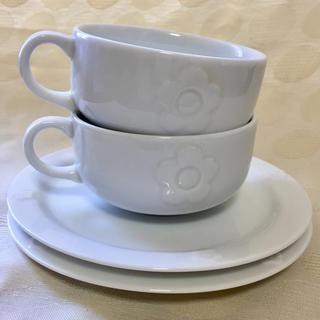 MARY QUANT - MARY QUANT ノベルティ カップ&デザート皿