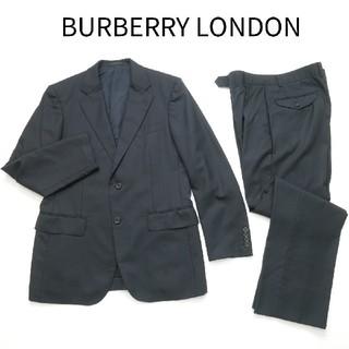 BURBERRY - BURBERRY LONDON  バーバリー A5 シルク混 セットアップスーツ