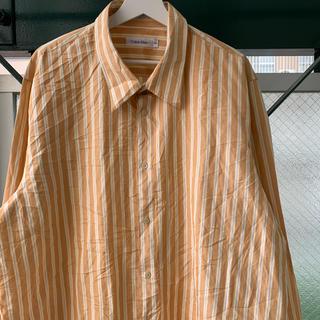 カルバンクライン(Calvin Klein)の超希少 Calvin Klein リネンシャツ シルクシャツ オーバーサイズ(シャツ)