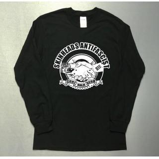 戦い FIGHT 格闘 西海岸 ワーク系 イラスト ロングTシャツ utn300(Tシャツ/カットソー(七分/長袖))