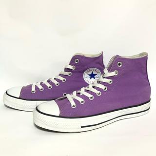 コンバース(CONVERSE)のQ244 ★ 25cm★コンバース108808 パープル紫色(スニーカー)